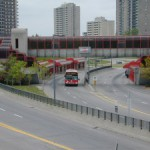 日本に本物のBRTは出来るか?(オタワのバス専用道路)