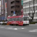 岡山駅の路面電車停留所予定地