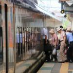 「新幹線」とローカル列車がシェア