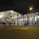 パリ北駅,夜はきれい