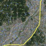 北陸新幹線-国交省の資料と地図を重ねてみた