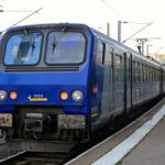 ストラスブール行きのボロい電車