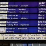 臨時インターシティBaden-Baden行き