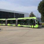 Metzの3連節BRT(外から編)