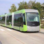 Metzの3連節BRT(内装編)